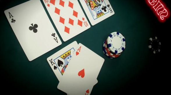 online poker playing
